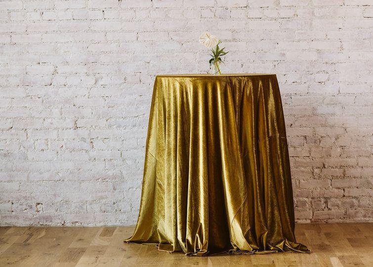 Mustard Velvet Linen
