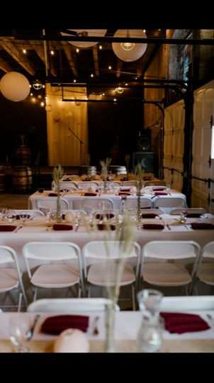 Beer themed reception