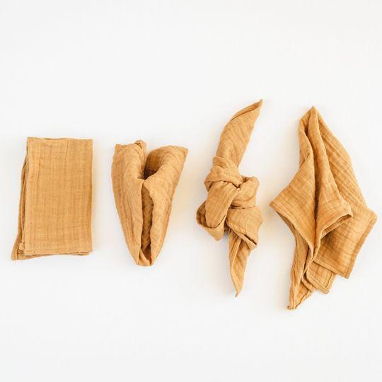 Honey Organic Cotton Napkins