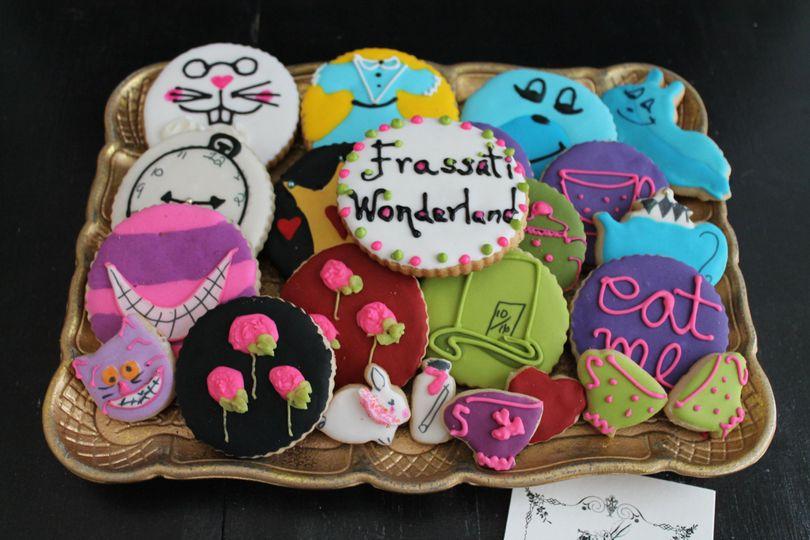 Alice in Wonderland Cookie Set