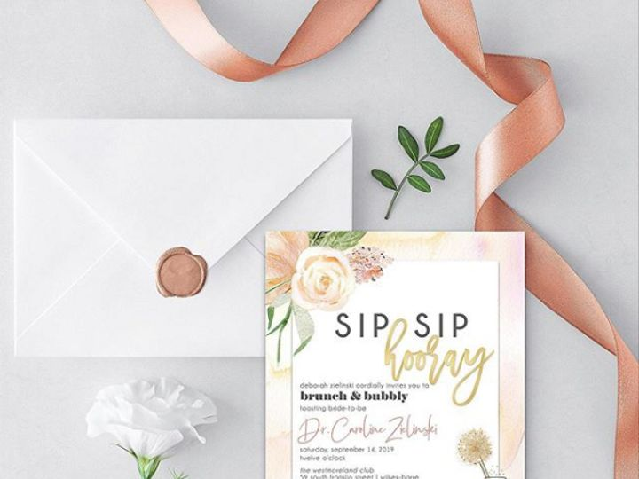 Tmx Paper 4 51 1885107 1568917573 Lancaster, PA wedding invitation