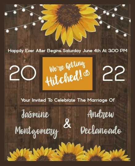 Rustic Flower Theme A