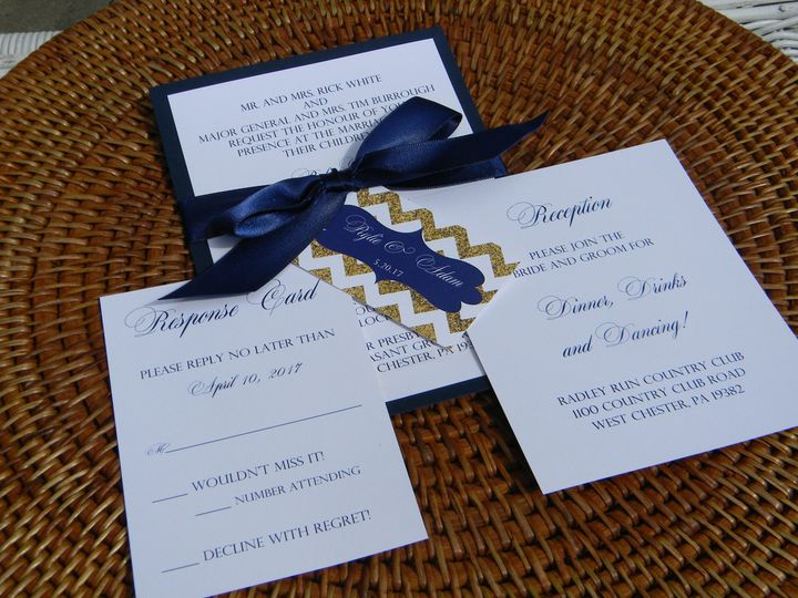 Tmx 1470490566827 Dscn4096 West Chester, Pennsylvania wedding invitation