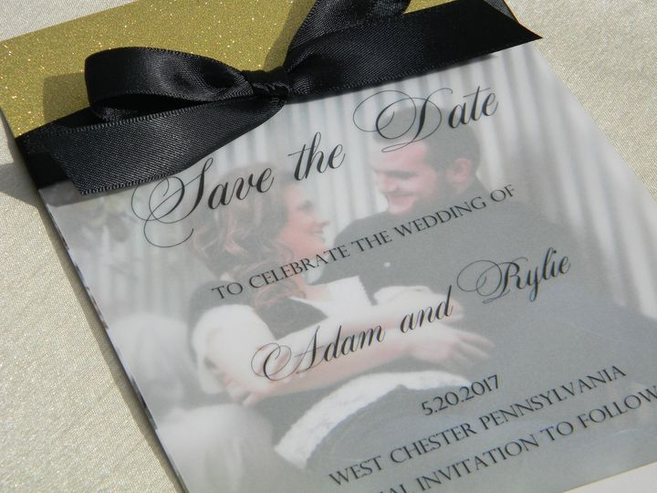 Tmx 1470490629708 Dscn3824 West Chester, Pennsylvania wedding invitation