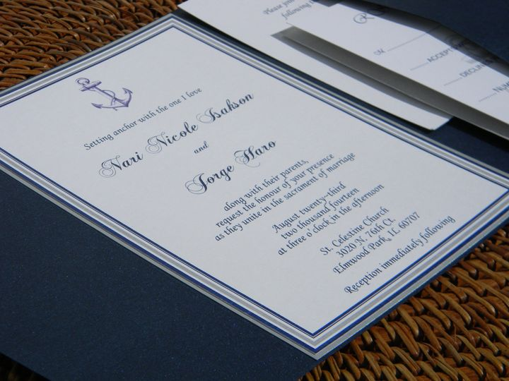 Tmx 1476389134969 Dscn2607 West Chester, Pennsylvania wedding invitation