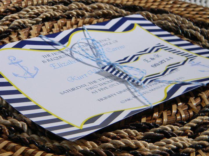 Tmx 1476389210432 Dscn2625 West Chester, Pennsylvania wedding invitation