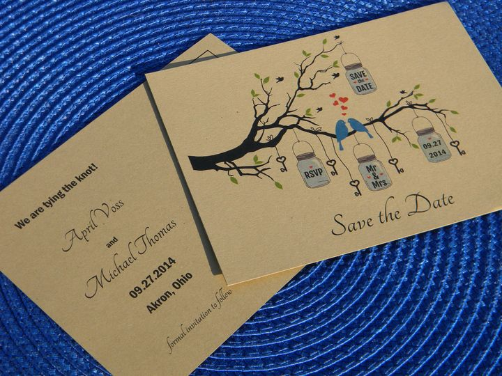 Tmx 1476389906671 Dscn2114 West Chester, Pennsylvania wedding invitation