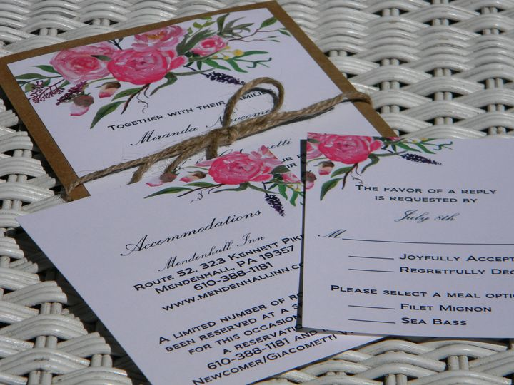 Tmx 1476390541792 Dscn4187 West Chester, Pennsylvania wedding invitation