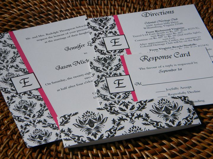 Tmx 1476391316782 Dscn1995 West Chester, Pennsylvania wedding invitation