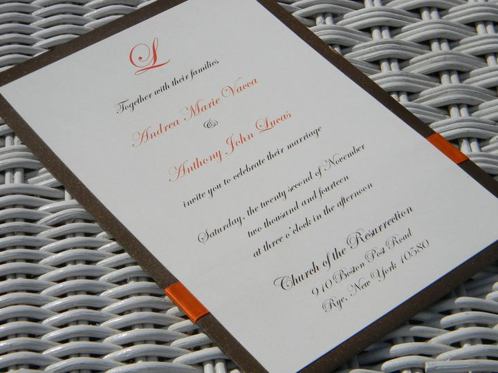 Tmx 1476391371875 Dscn2030 West Chester, Pennsylvania wedding invitation