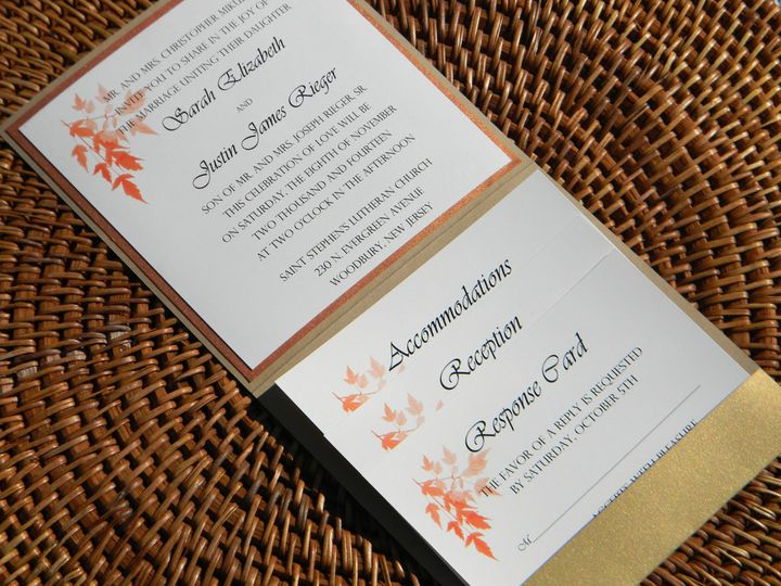 Tmx 1476391444978 Dscn2686 West Chester, Pennsylvania wedding invitation