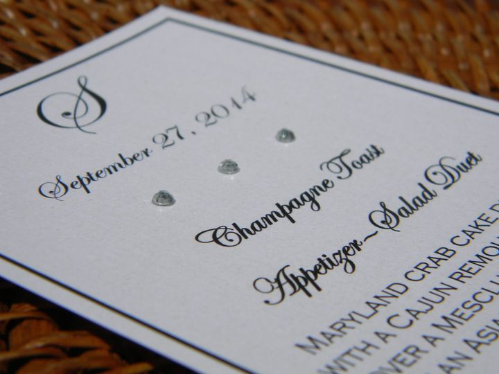 Tmx 1476391574388 Dscn3122 West Chester, Pennsylvania wedding invitation