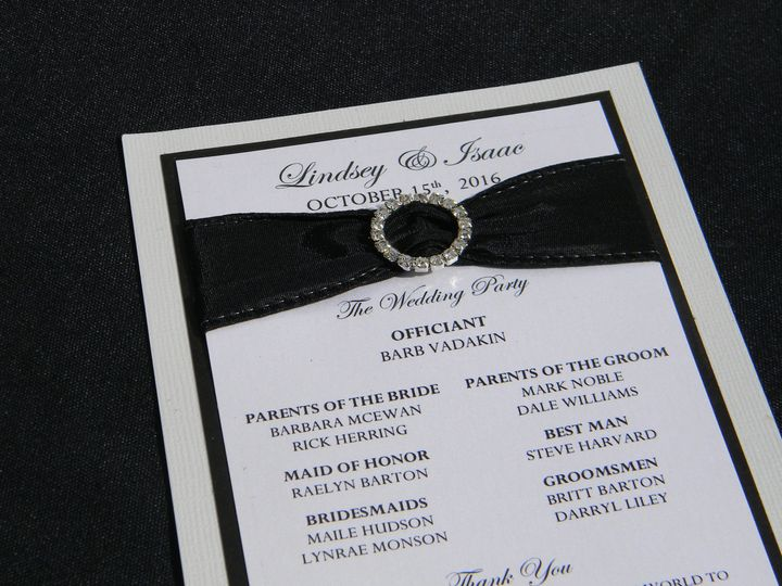 Tmx 1476391725876 Dscn3849 West Chester, Pennsylvania wedding invitation