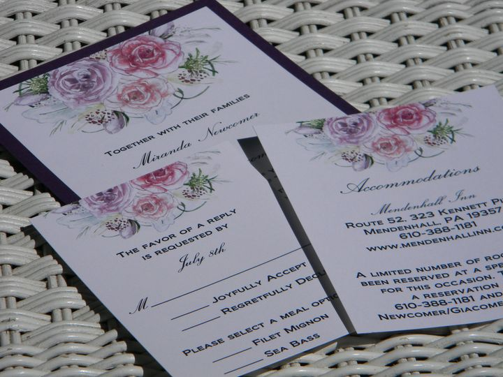 Tmx 1476391804672 Dscn4199 West Chester, Pennsylvania wedding invitation
