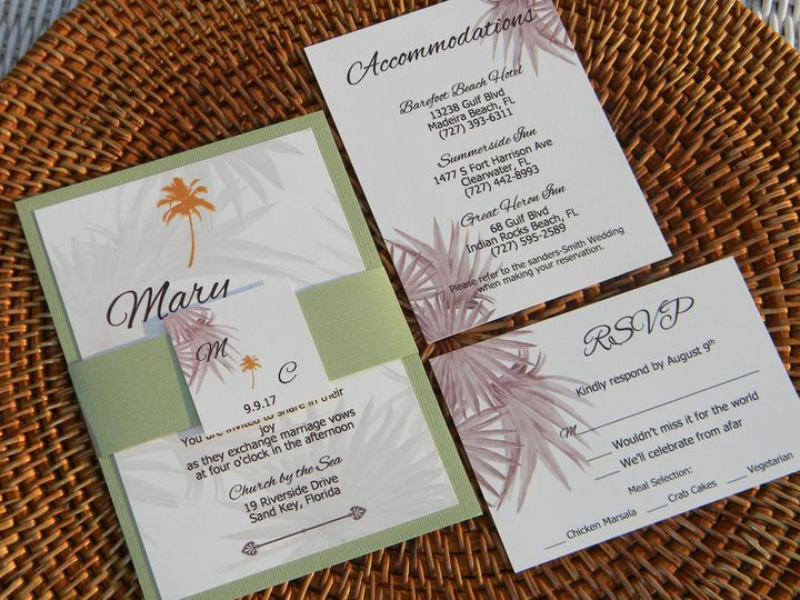 Tmx 1485990587276 Dscn4473 West Chester, Pennsylvania wedding invitation