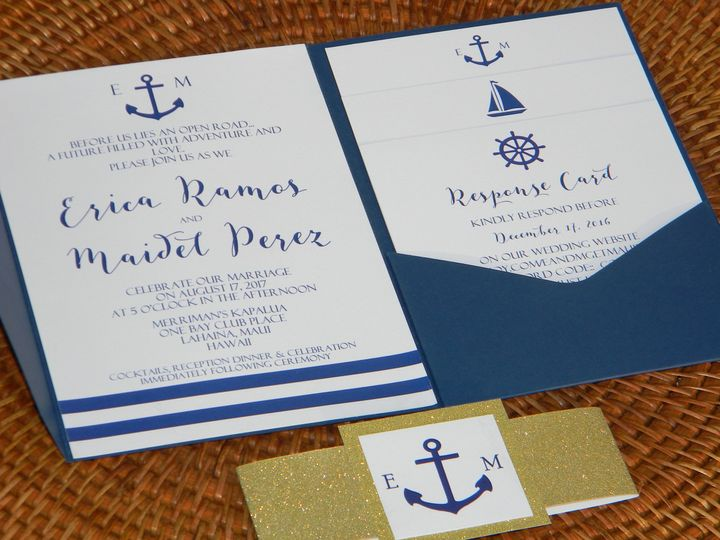 Tmx 1485990655342 Dscn4501 West Chester, Pennsylvania wedding invitation
