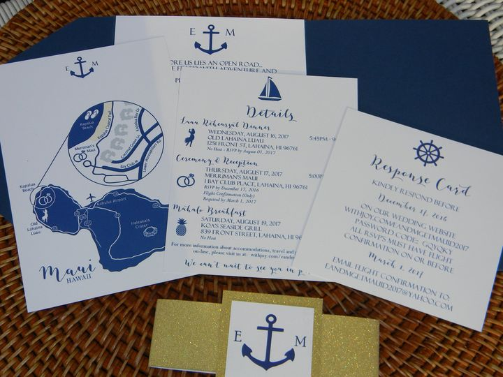 Tmx 1485990679670 Dscn4503 West Chester, Pennsylvania wedding invitation