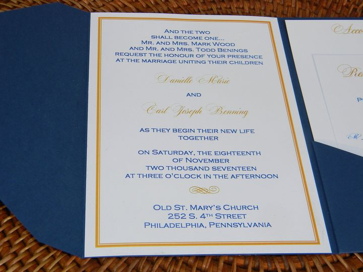 Tmx 1485990702096 Dscn4506 West Chester, Pennsylvania wedding invitation