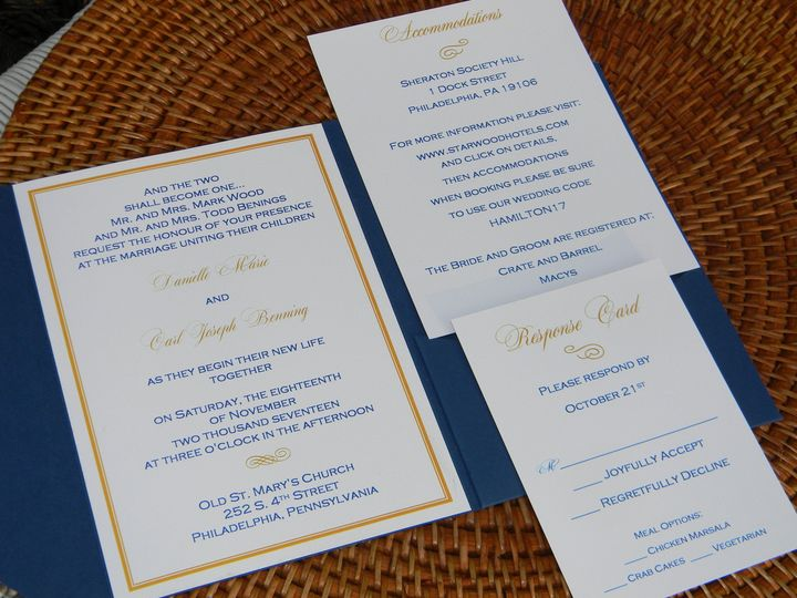 Tmx 1485990726860 Dscn4512 West Chester, Pennsylvania wedding invitation