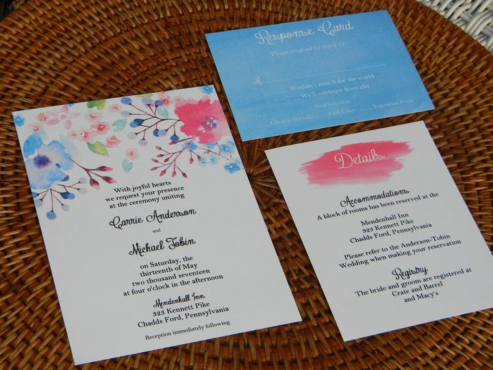 Tmx 1485990750078 Dscn4514 West Chester, Pennsylvania wedding invitation