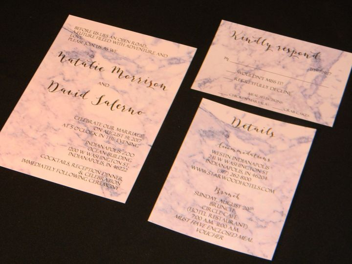 Tmx 1485990777599 Dscn4525 West Chester, Pennsylvania wedding invitation