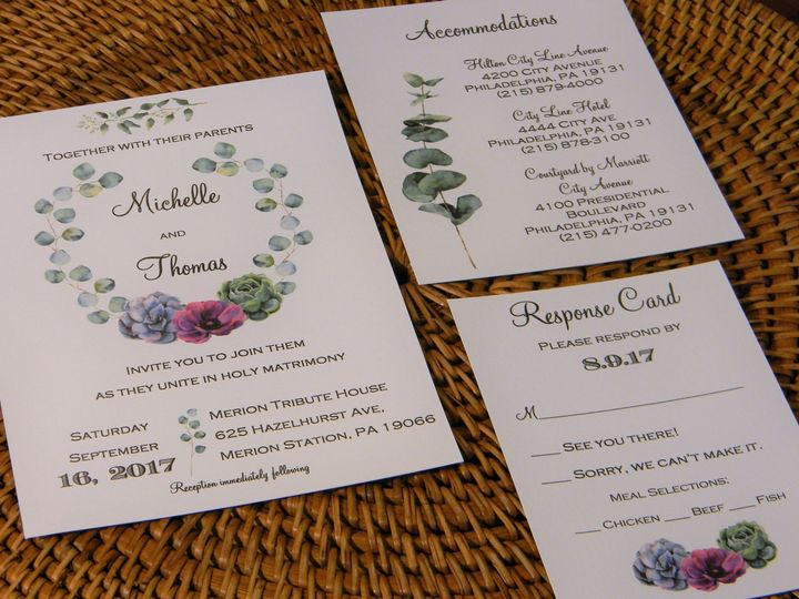 Tmx 1485990799383 Dscn4537 2 West Chester, Pennsylvania wedding invitation