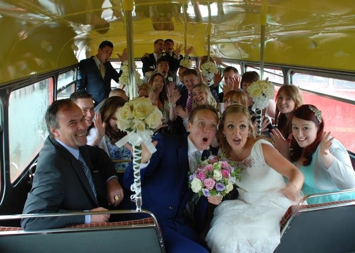 Tmx 1506107152360 1962londonroutemaster0000 Kansas City wedding transportation