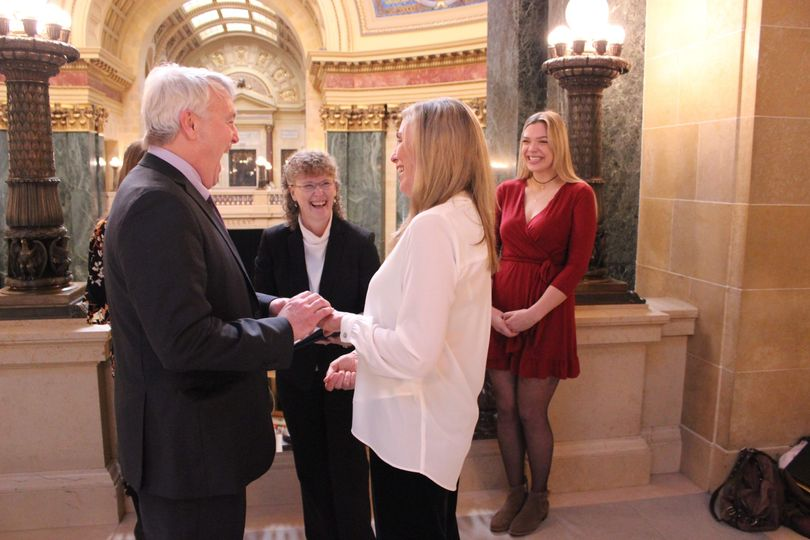 State Capitol Ceremony