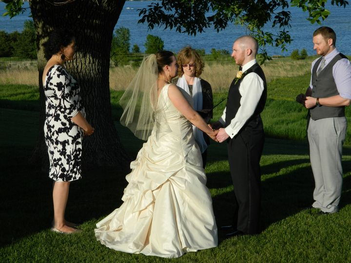 Tmx 1418664988085 Ashley  Ryan May 30 023 Edgerton, Wisconsin wedding officiant