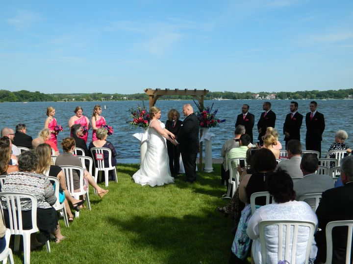 Tmx 1426370829494 Stephanie  Paul June 14 041 Edgerton, Wisconsin wedding officiant