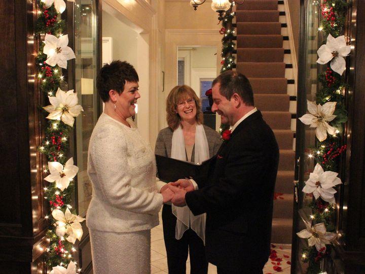 Tmx 1431538296761 Xmas 2014  Julie  John Dec 27 Wedding 146 Edgerton, Wisconsin wedding officiant