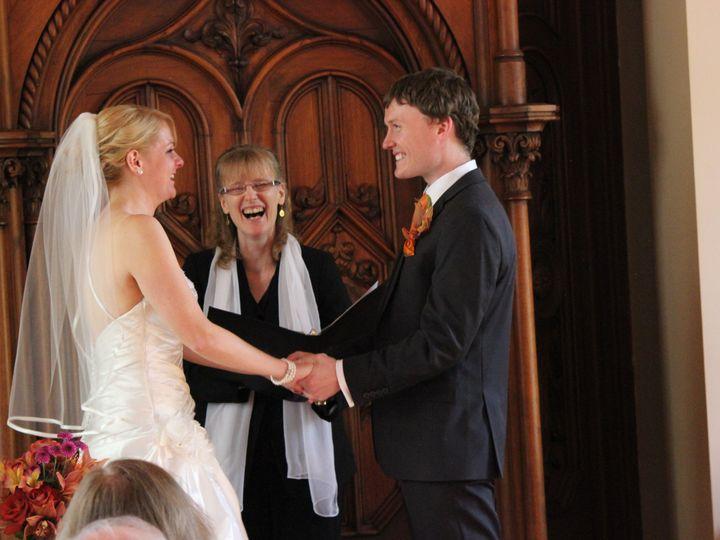 Tmx 1431542752259 Lauren  Jeremy Oct 11 Wedding 080 Edgerton, Wisconsin wedding officiant