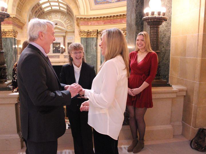 Tmx Img 4205 51 608107 1562704294 Edgerton, Wisconsin wedding officiant