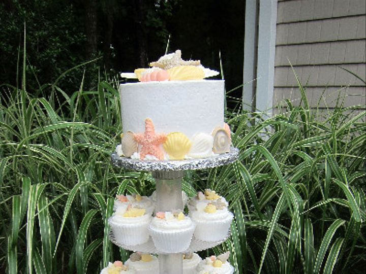 Tmx 1375982367263 2013 07 12 13 50 57 Virginia Beach, VA wedding cake