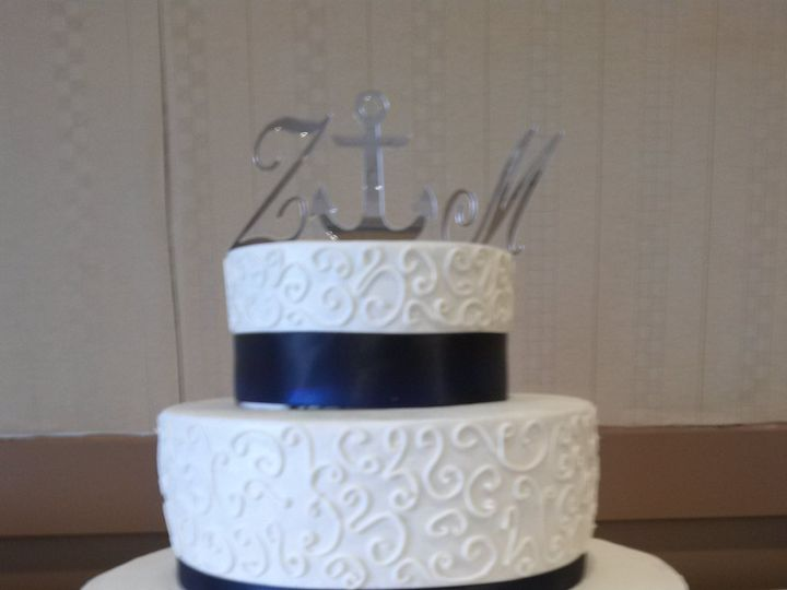 Tmx 1376499156712 Img20130406160333 Virginia Beach, VA wedding cake