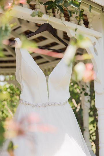 Dress in Gazebo