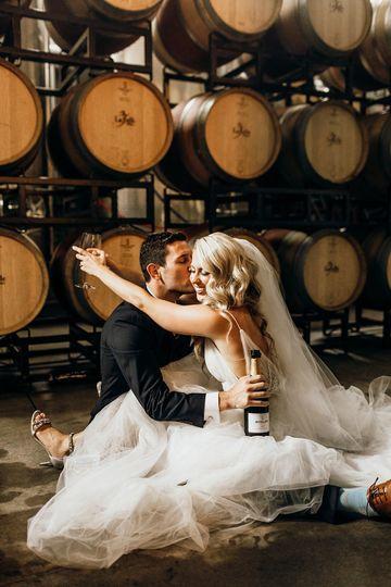 Wedding at La Belle Winery