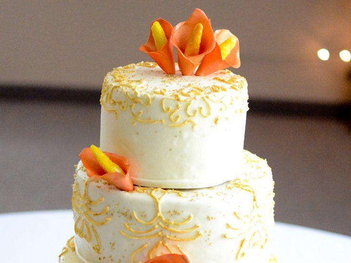 Tmx 1342794278652 Mitchellcake Durham wedding cake