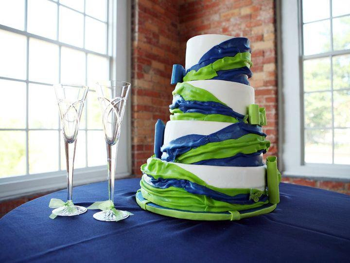 Tmx 1342794463330 Withwineglasses Durham wedding cake