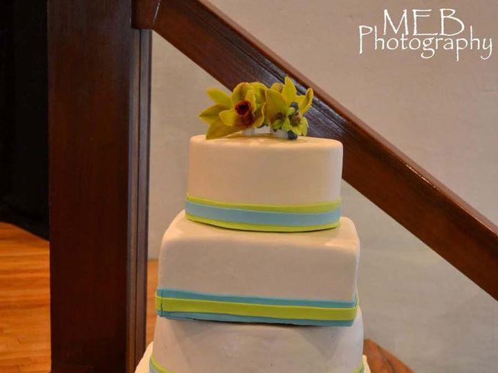 Tmx 1342794492265 TishandRodney Durham wedding cake