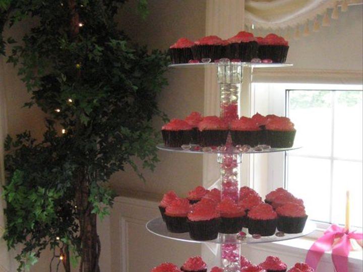 Tmx 1342794499062 Cupcaketower Durham wedding cake