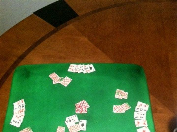 Tmx 1357748689105 Poker Durham wedding cake