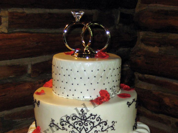 Tmx 1373630402131 Img6504 Copy Durham wedding cake