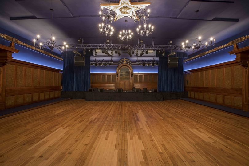 Lodge Room - view of stage