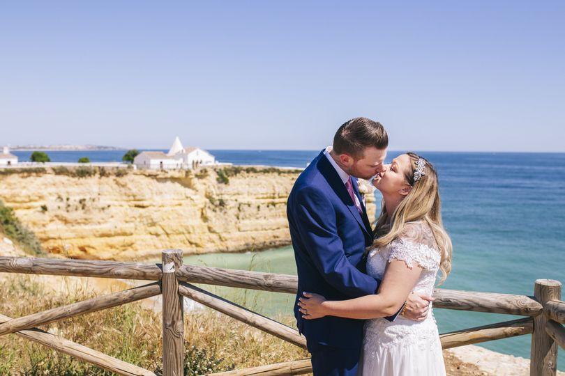 Dan & Lucy after get married