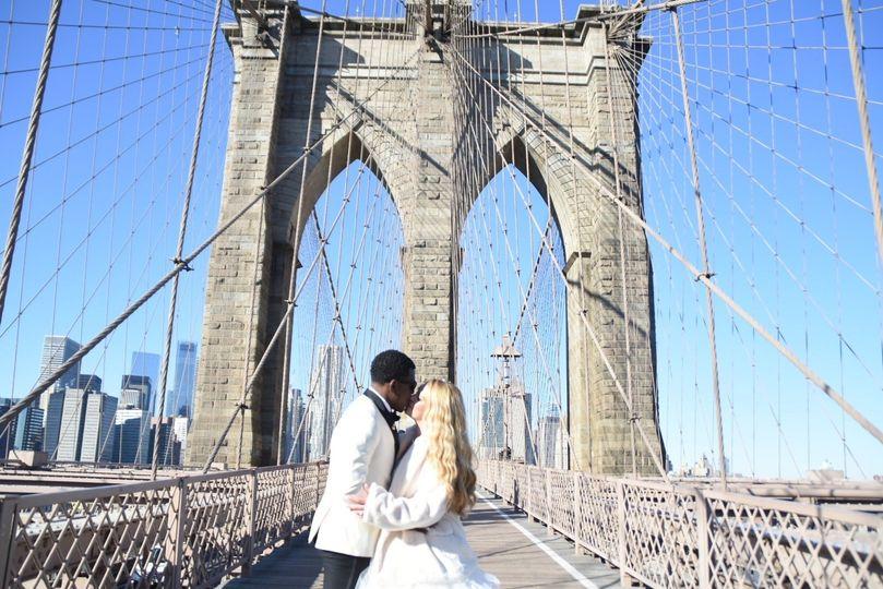 Brooklyn Bridge Wedding