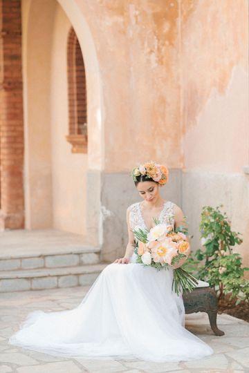 Our coral bride