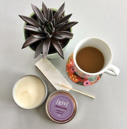 Our natural soy candles are hand poured in the US. Choose one of our existing scents, or select your...
