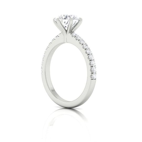 Six Prong Solitaire Profile