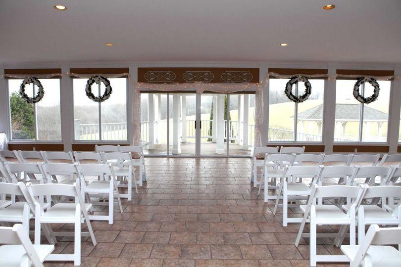 Winter/Rain Indoor Ceremony